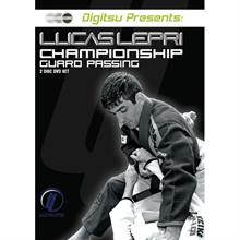 DIGITSU Lucas Lepri Championship Guard Passing 2-Disc DVD Set
